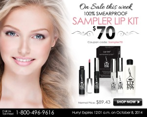 lip ink weekly special deal